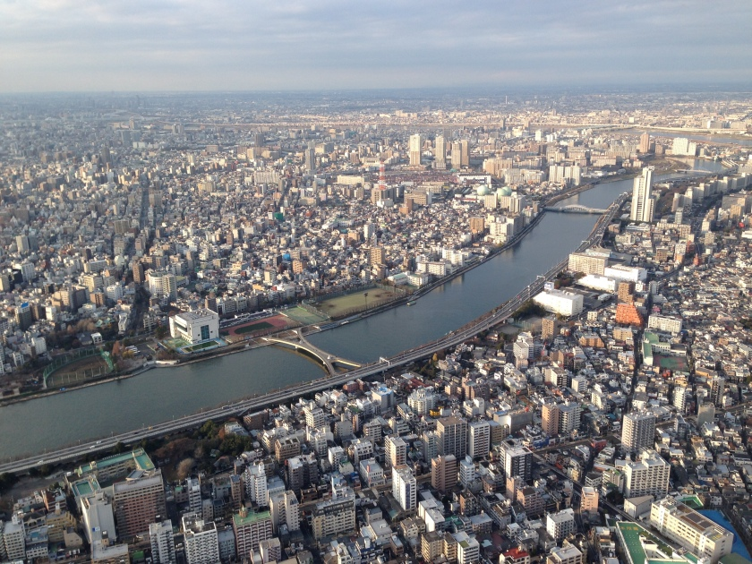 View of Tokyo from Skytree